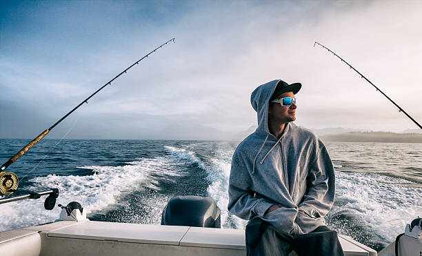 deep sea fishing - fishing boat stock pictures, royalty-free photos & images