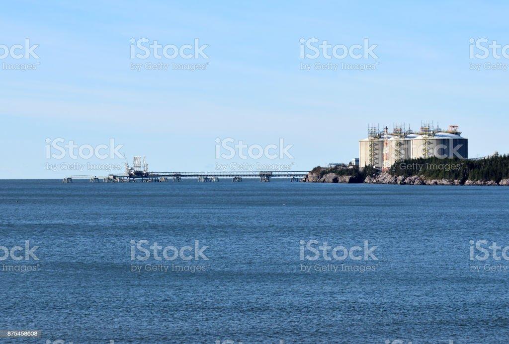 Deep Sea Marine Terminal stock photo