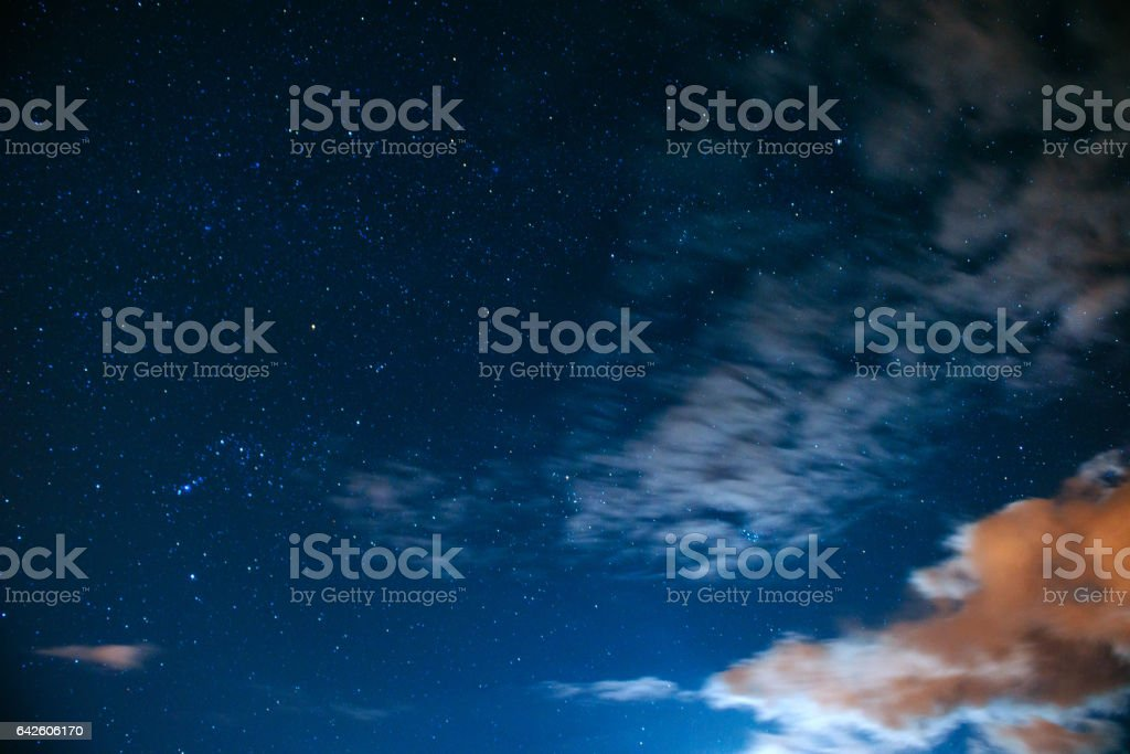 astrophoto deep sky  - foto stock