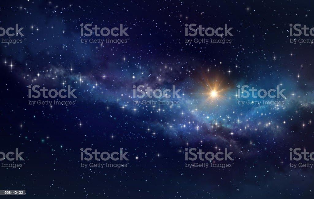 Deep space Hintergrund – Foto
