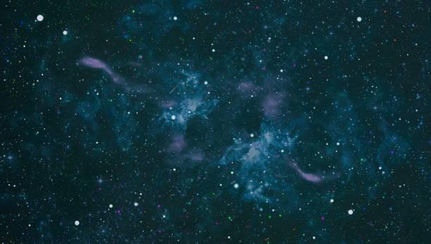 Derin uzay. Yüksek tanımlı yıldız alanı arka planı. Yıldızlı dış uzay arka plan doku . Renkli Starry Night Sky Dış Uzay arka plan stok fotoğrafı