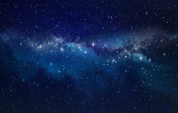 Deep space High definition star field background star space stock pictures, royalty-free photos & images