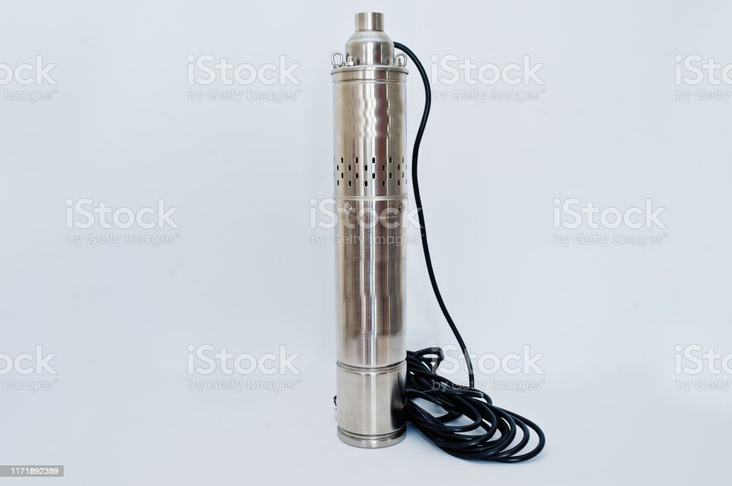 Deep Well Submersible Pump Isolated On White Stock Photo Download Image Now Istock
