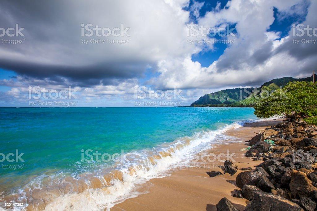 Deepest blue stock photo
