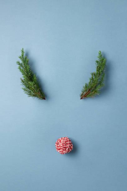 reh begegnen konzept. - weihnachtsessen ideen stock-fotos und bilder