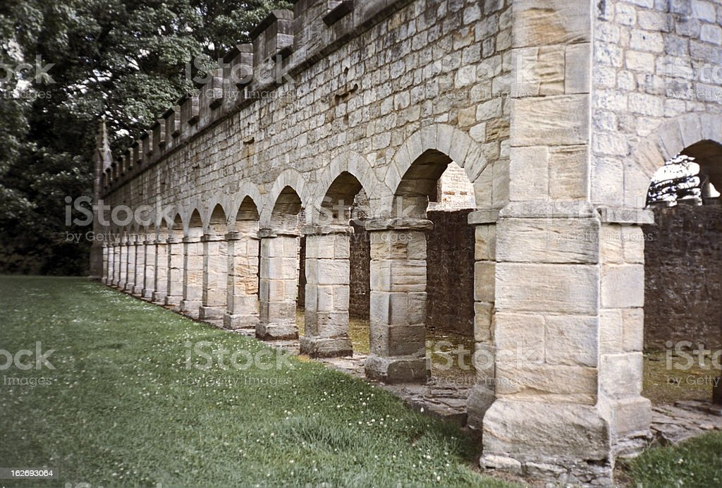 Deer house of Bishop Auckland park and castle stock photo