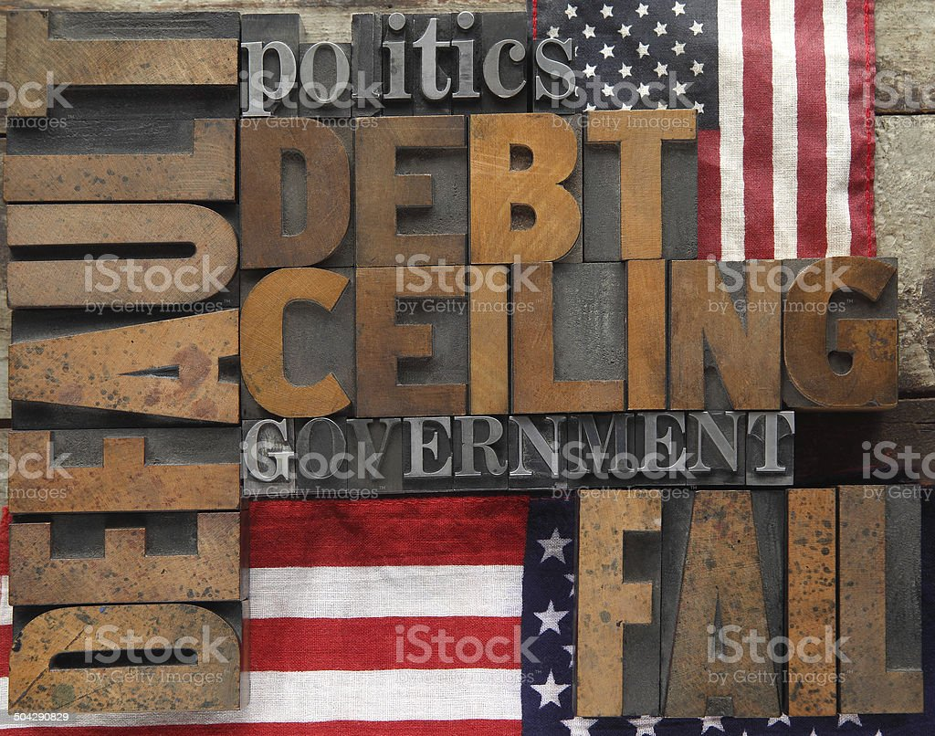 default and related words with flags stock photo