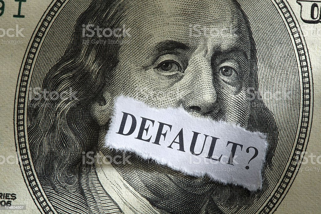 Default? royalty-free stock photo