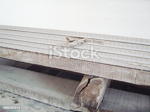 istock Defected Fiber Cement Board – Low Quality Product 499060515