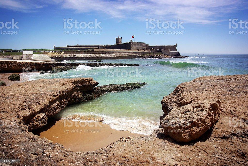Defense Fort stock photo