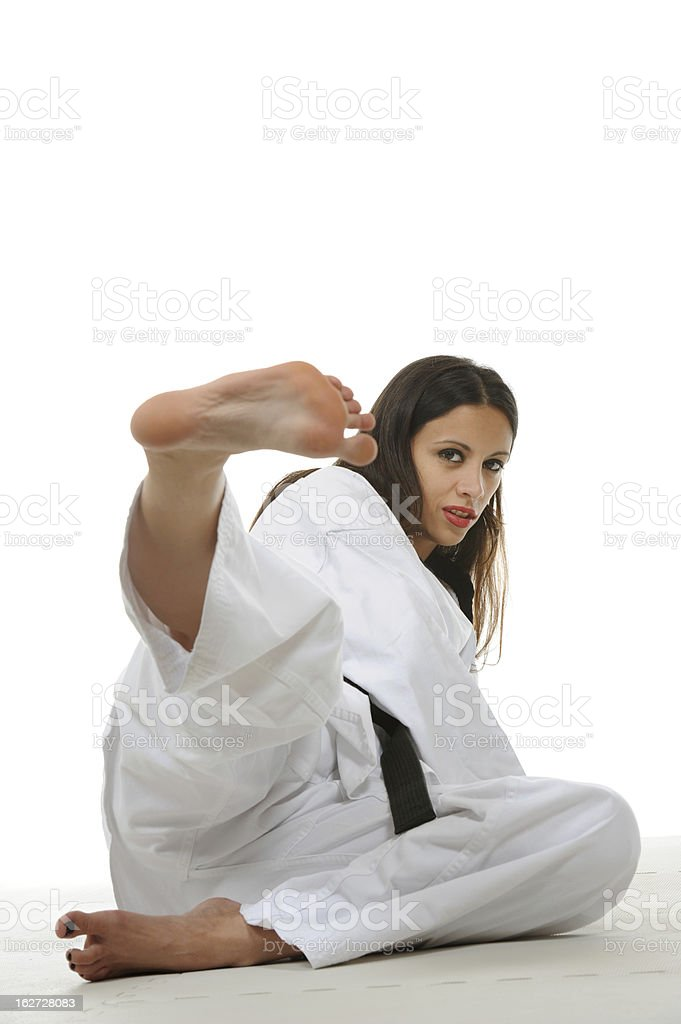 Defensive basics stock photo