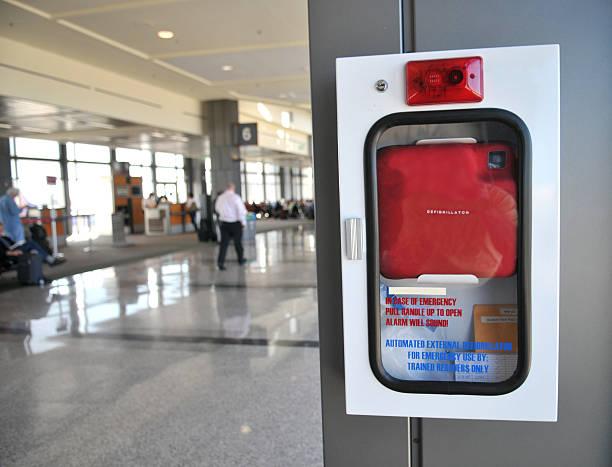 Defibrilator in Airport foto