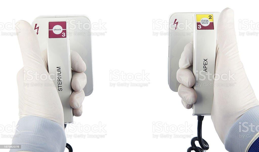 Defibrilator royalty-free stock photo