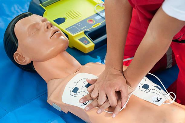 CPR Defibrillator Training foto