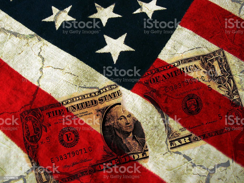 U.S Deficit stock photo