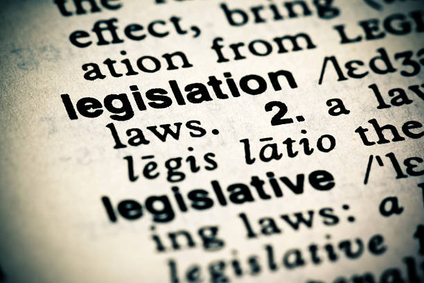 Definition: Legislation A cross processed image of the dictionary definition of the word: Legislation. legislation stock pictures, royalty-free photos & images