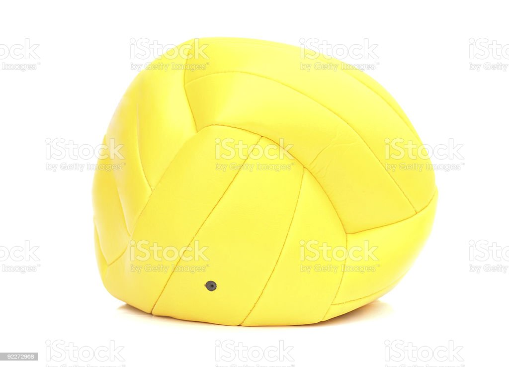 Deflated Volleyball royalty-free stock photo