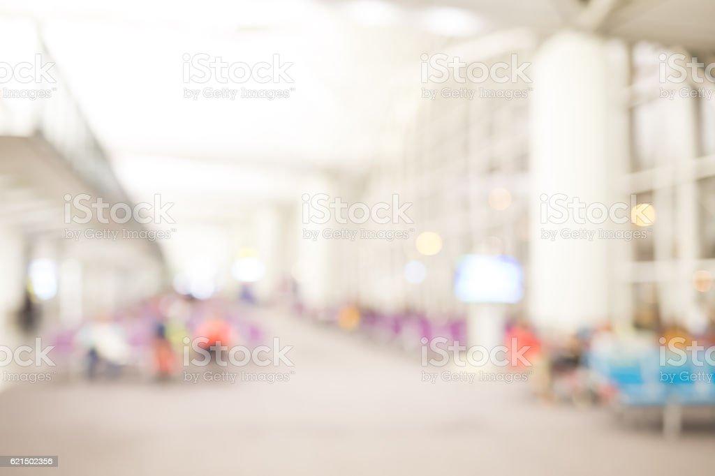 defocus bokeh of airport foto stock royalty-free