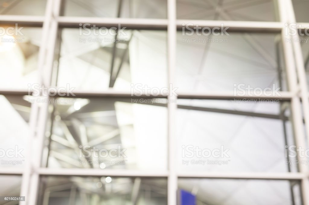 defocus bokeh of office building foto stock royalty-free