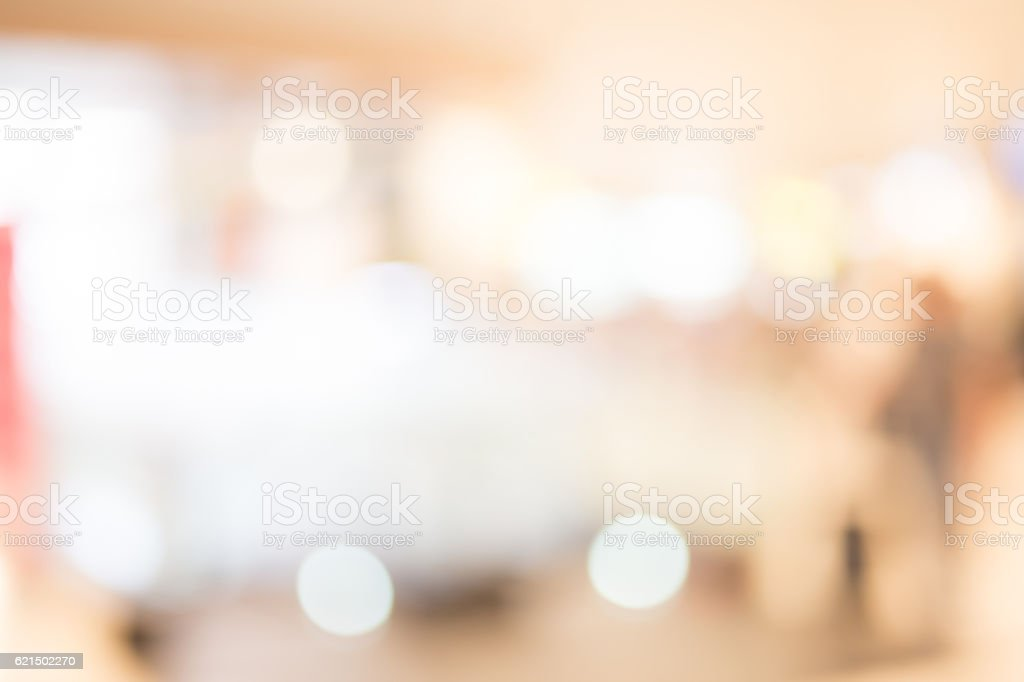 defocus bokeh of shopping mall Lizenzfreies stock-foto