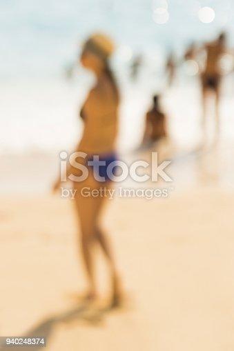 Defocus Holiday Beach
