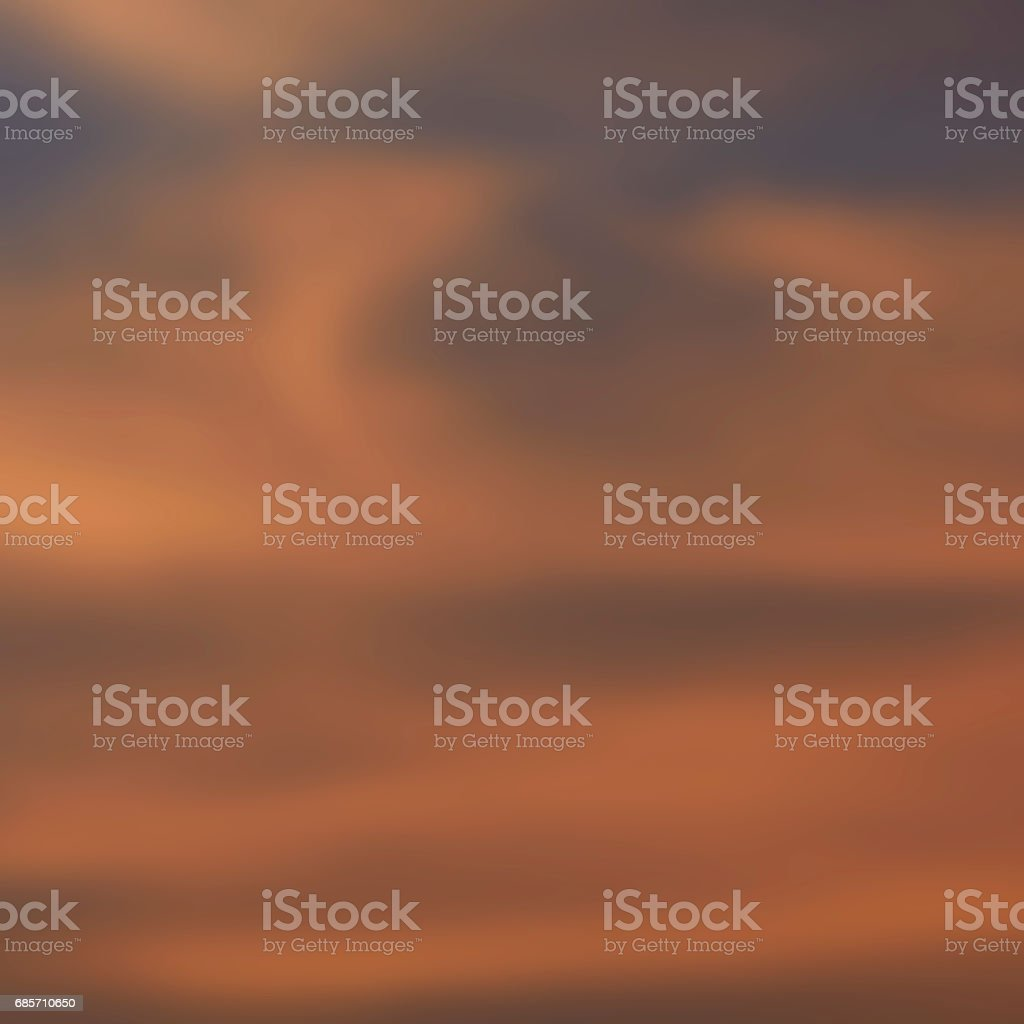 Unschärfe der Sonnenuntergang Himmel Hintergrund Lizenzfreies stock-foto