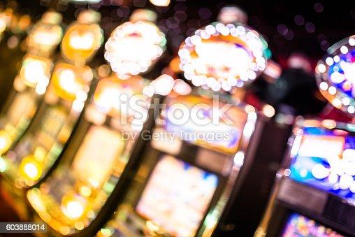 defocus Slot machine casino background
