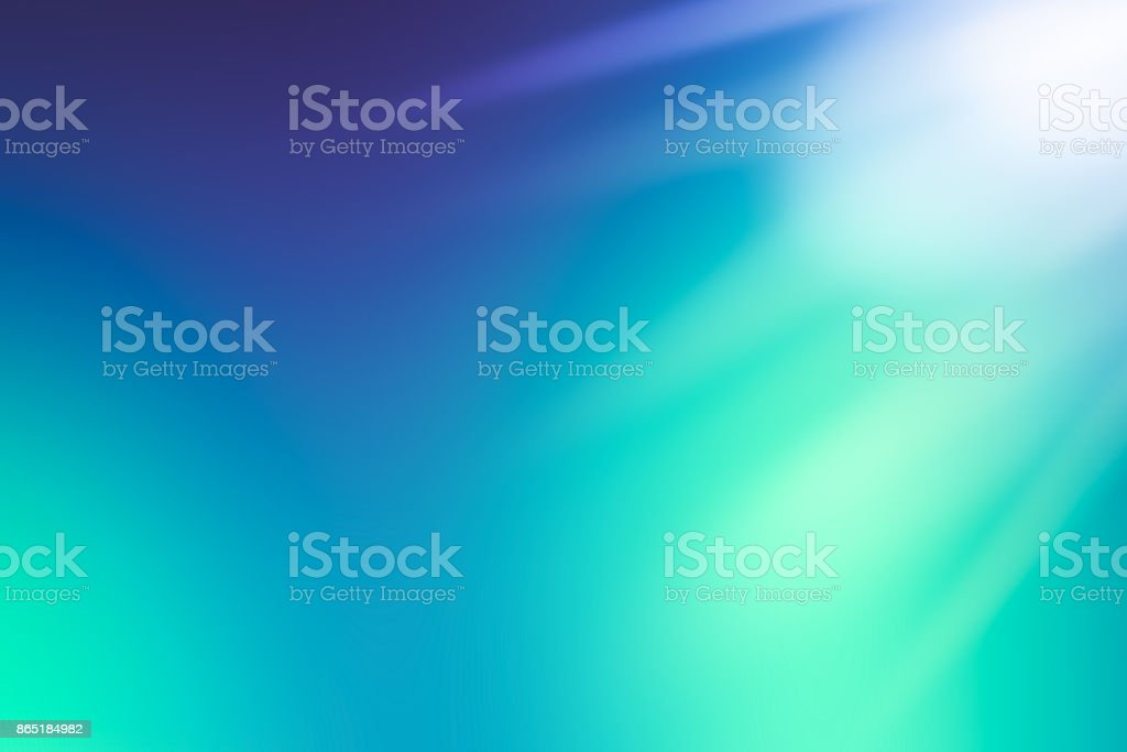 Defocused Abstract Background Blue Green stock photo