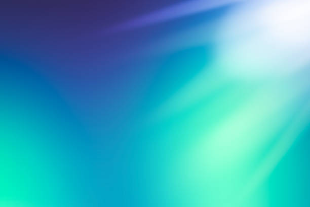 defocused abstract background blue green - teal backgrounds stock photos and pictures