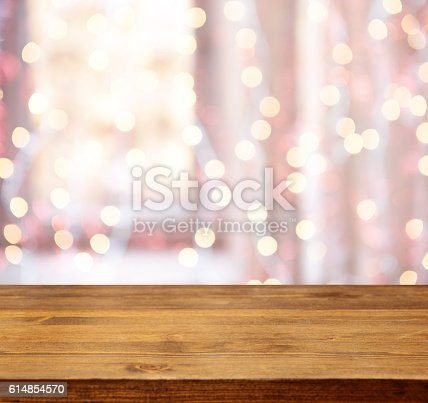 istock Defocused abstract background blur motion with bokeh light 614854570