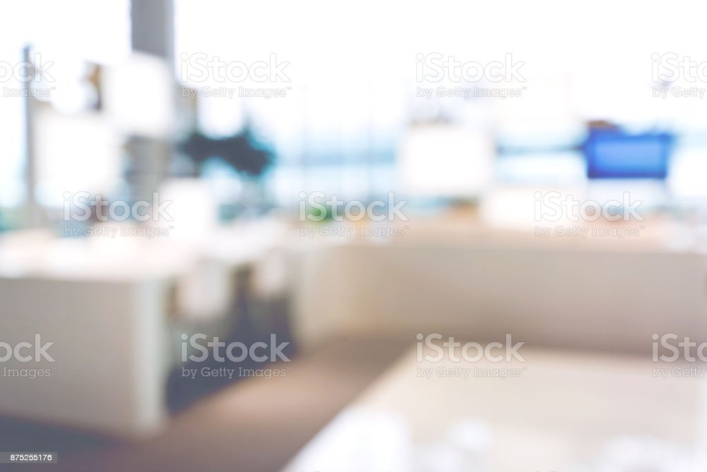 Defocused abstract city background stock photo