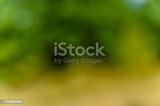 639809128 istock photo Defocused and blurred background. Green bokeh 1152980035
