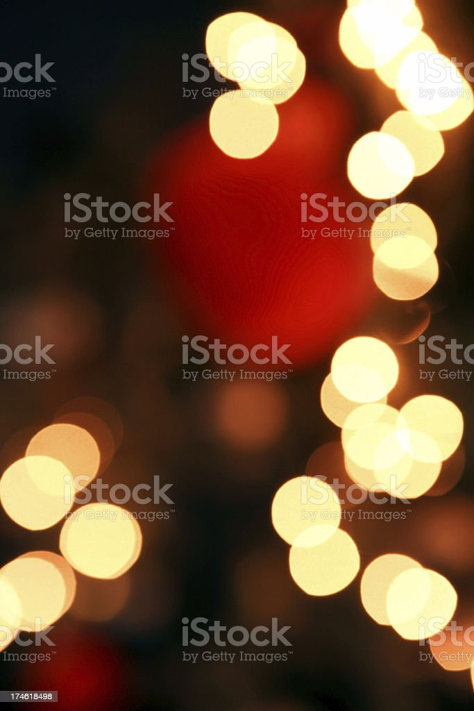 defocused background lights (XL) royalty-free stock photo