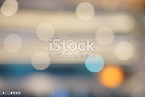 653331540 istock photo Defocused blue background with light 1179365085