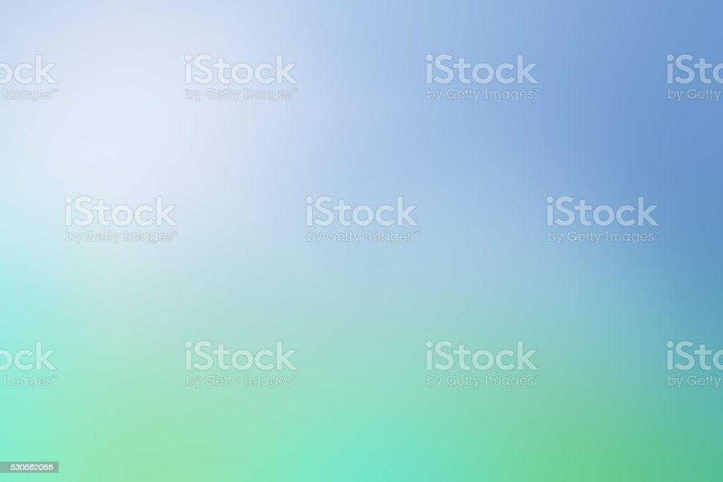 Defocused Blue Green Nature Modern Background stock photo