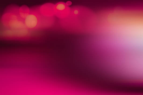 defocused blurred abstract background with bokeh - magenta stock pictures, royalty-free photos & images