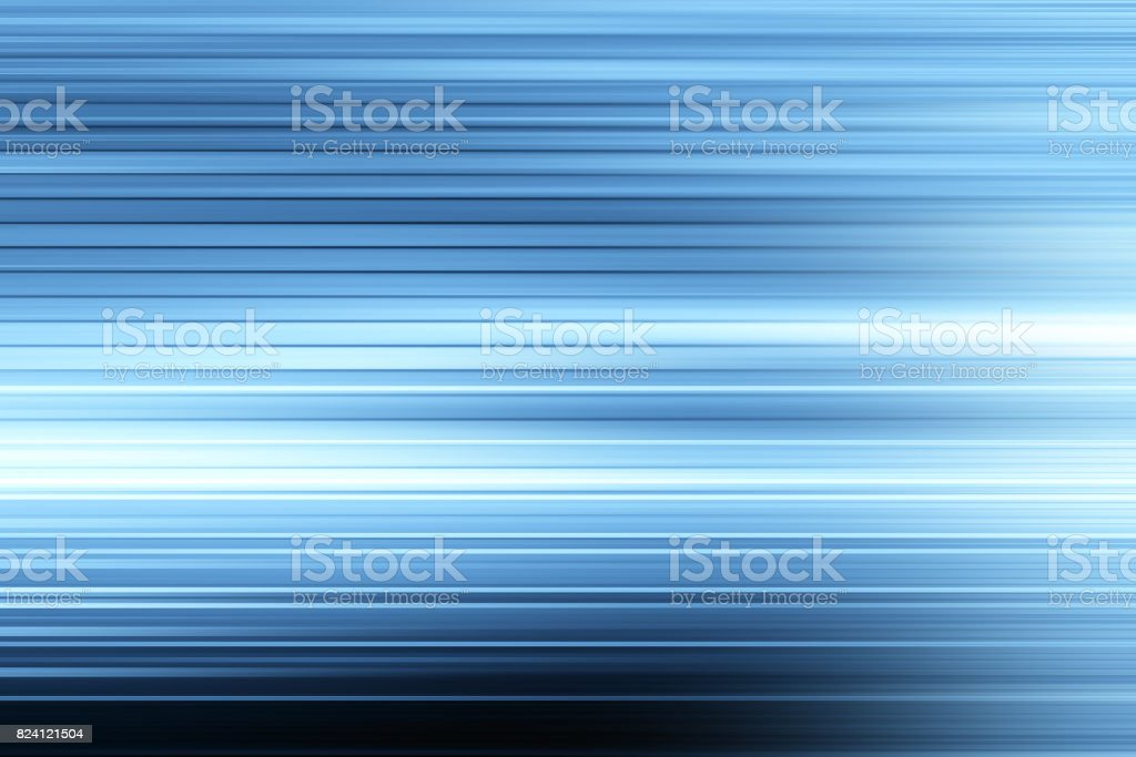 Defocused Blurred Motion Abstract Background Blue stock photo