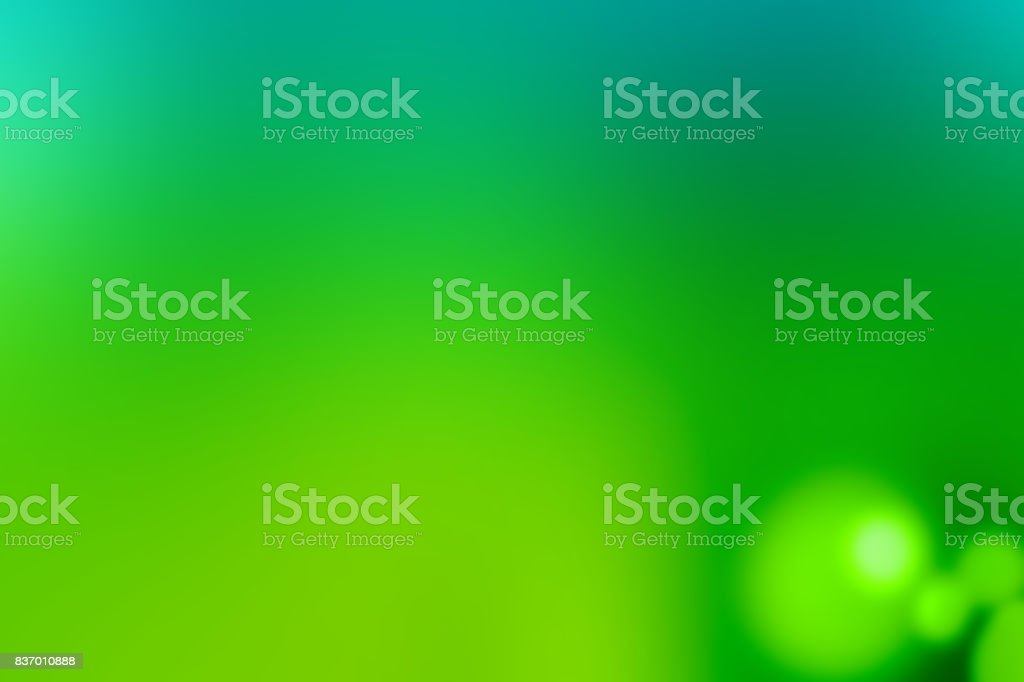Defocused Blurred Motion Abstract Background Green stock photo