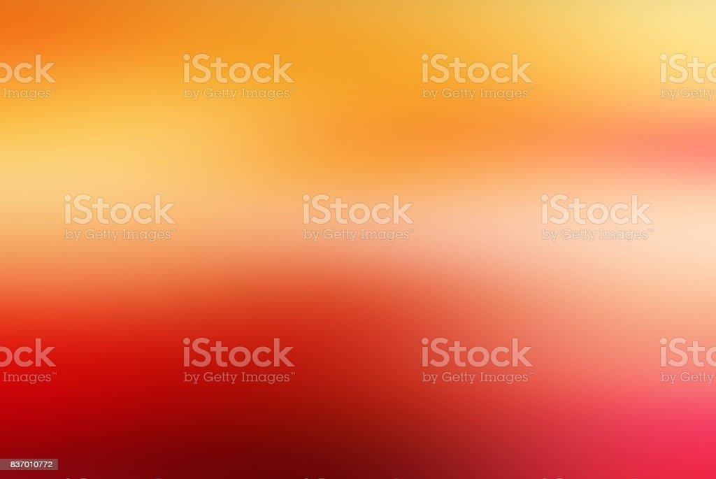 Ufuk bulanık hareket soyut arka plan turuncu sarı stok fotoğrafı
