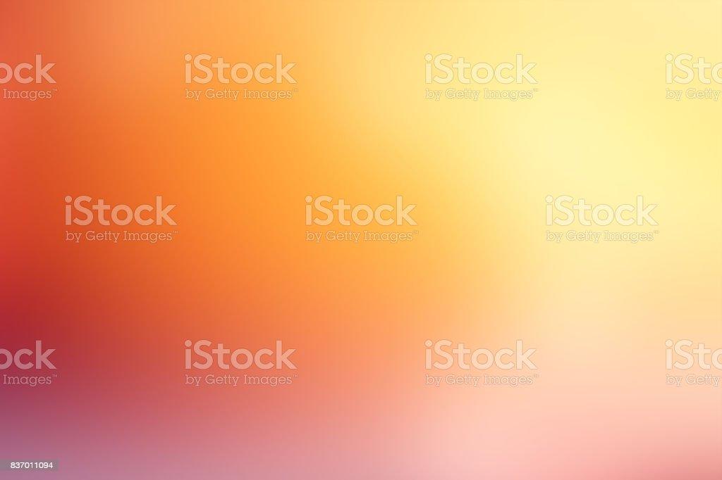 離焦模糊的運動抽象背景桔黃 - 免版稅光圖庫照片