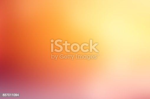 istock Defocused Blurred Motion Abstract Background Orange Yellow 837011094