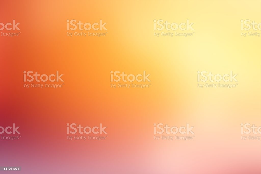 Defocused Blurred Motion Abstract Background Orange Yellow stock photo