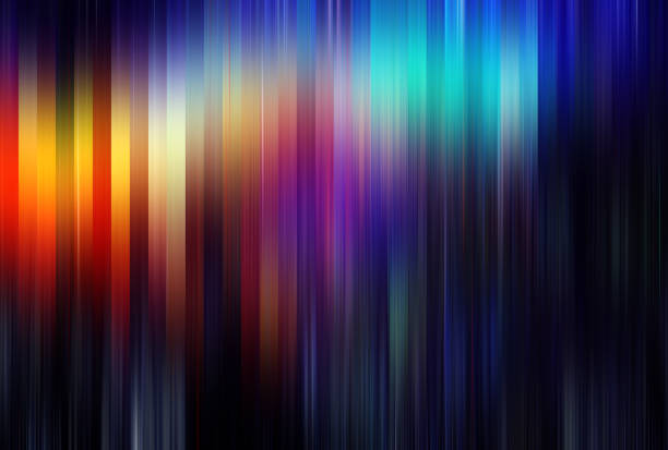 pasante floue de mouvement abstrait - couleur photos et images de collection