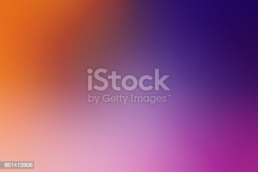 istock Defocused Blurred Motion Abstract Background Purple Orange 851413906