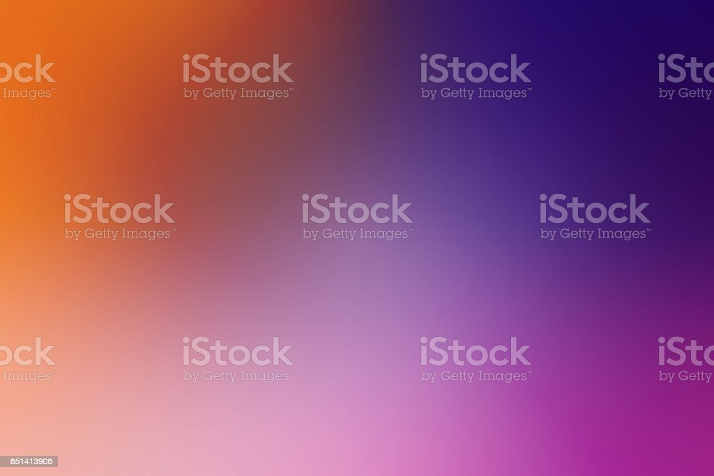 Defocused Blurred Motion Abstract Background Purple Orange stock photo