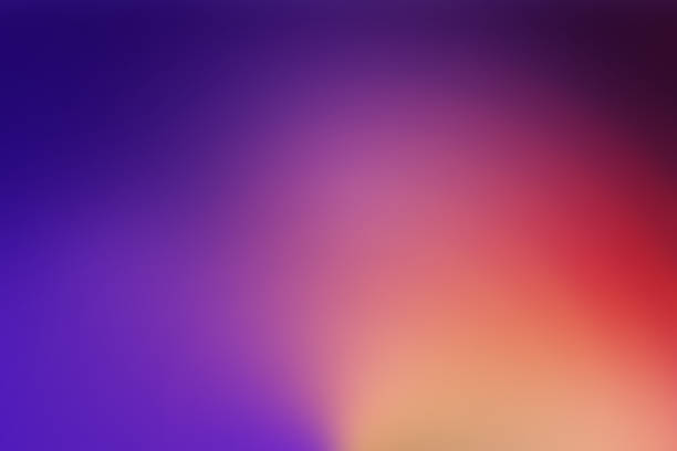 defocused blurred motion abstract background purple red - colore descrittivo foto e immagini stock