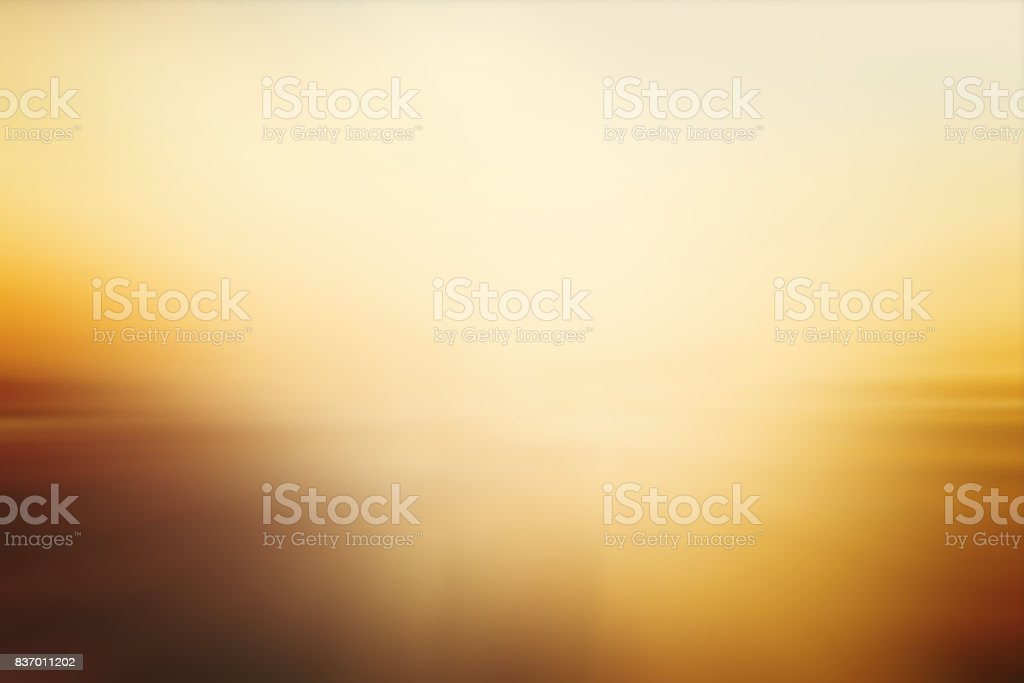 Defocused Blurred Motion Abstract Background Yellow stock photo