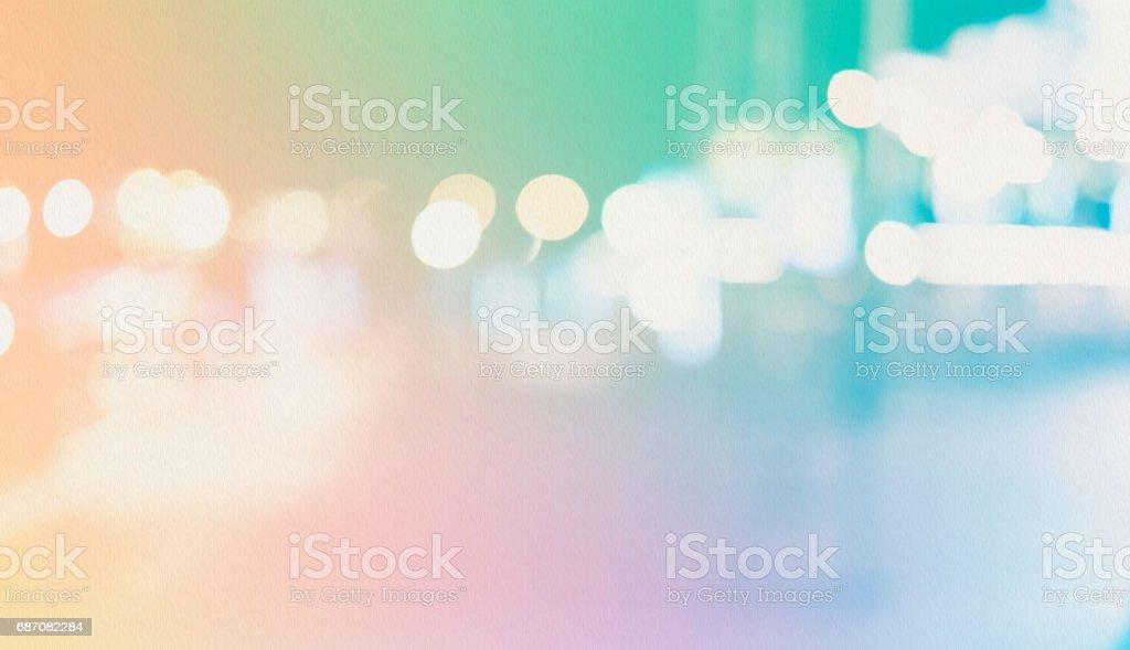 defokussierten Bokeh Licht, abstrakten Hintergrund bei Nacht Foto Lizenzfreies stock-foto
