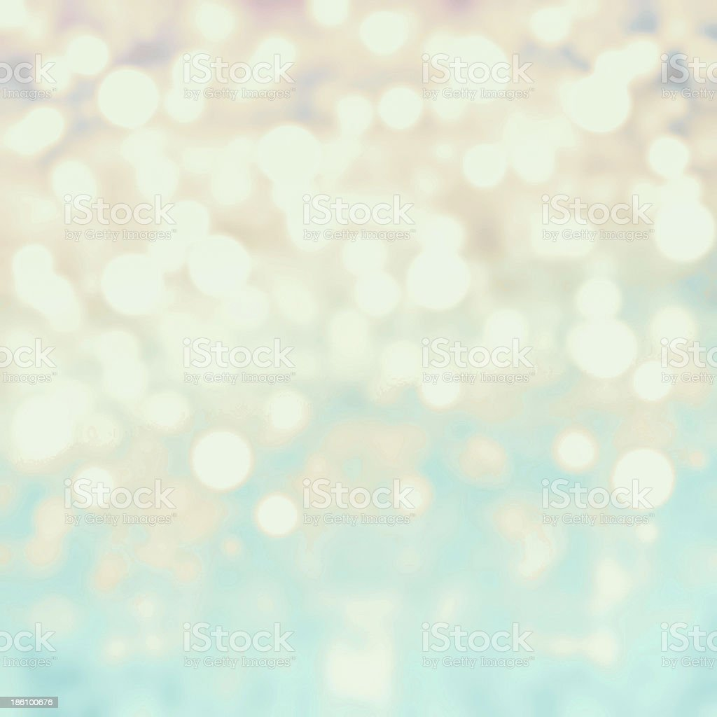 Defocused Bokeh twinkling lights background.  Abstract twinkled royalty-free stock photo