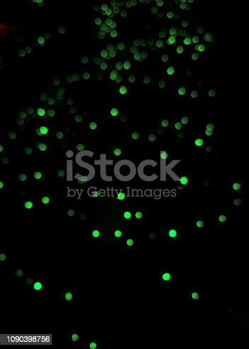istock Defocused christmas colorful lights abstract background 1090398756